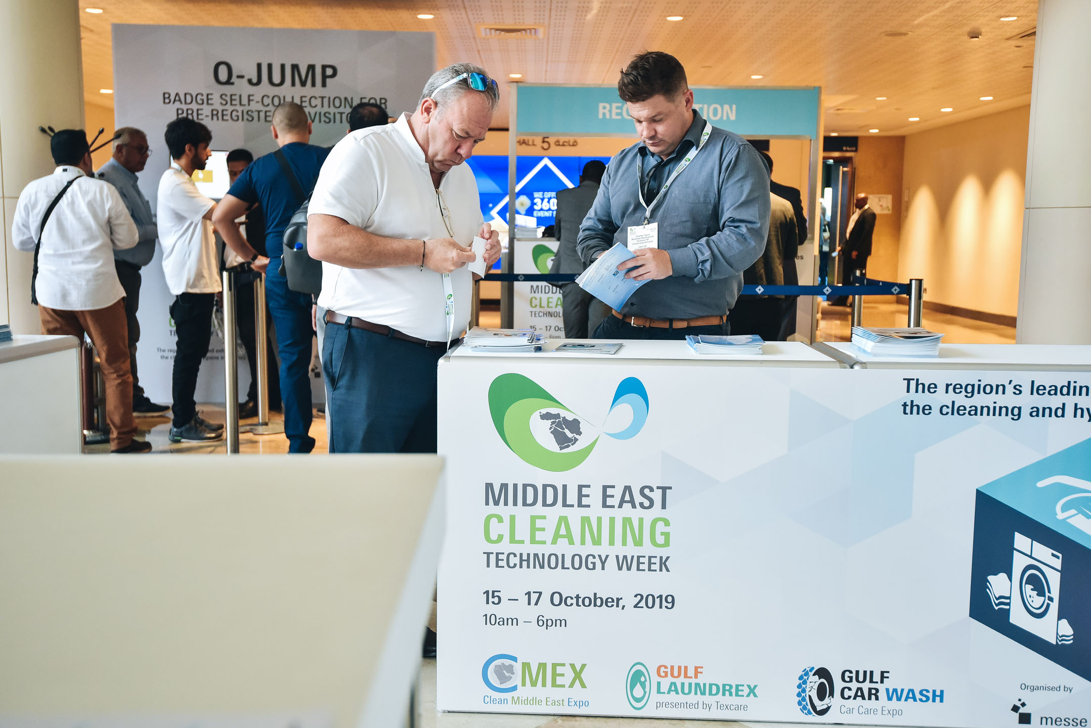 Information for visitors - Middle East Cleaning Technology Week